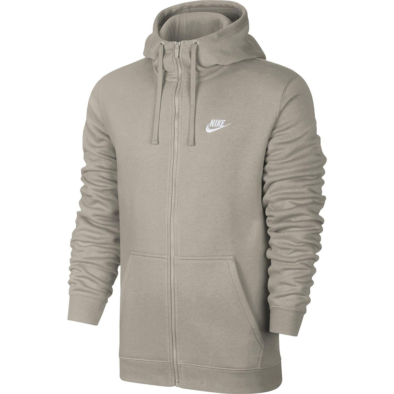 Nike M NSW Club FZ BB Chaqueta, Hombre, (String), XL: Amazon ...
