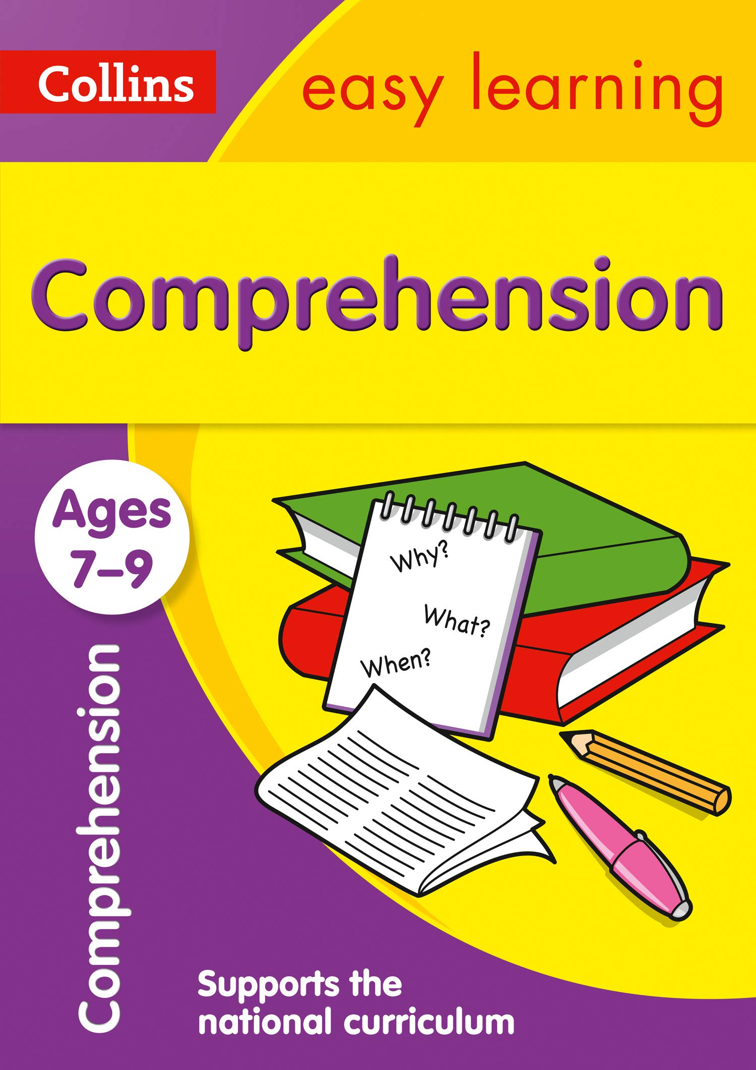 - Comprehension Ages 7-9: Prepare For School With Easy Home Learning