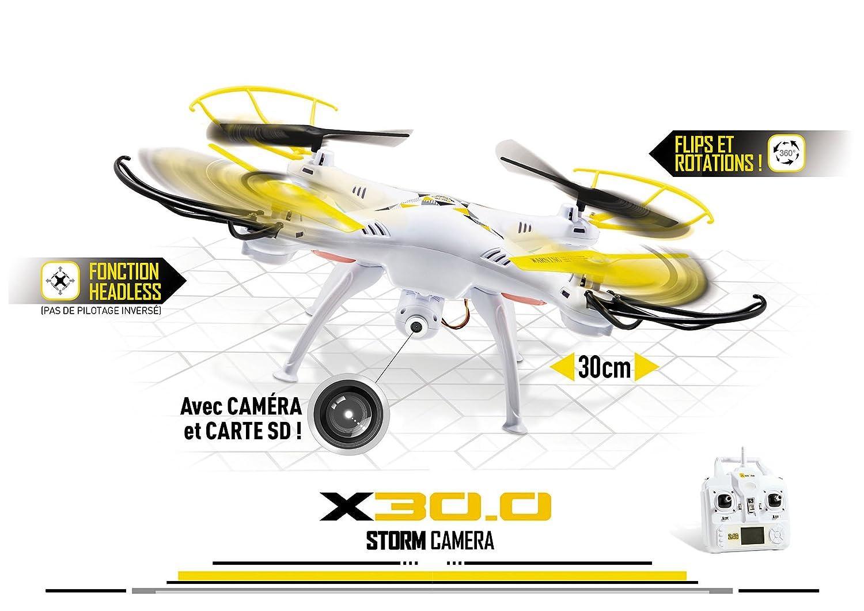 Mondo - 1 - Ultradrone x30.0 Storm R/C + CAM: Amazon.es: Juguetes ...