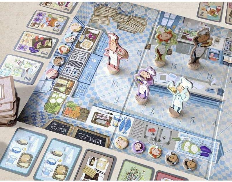 MARBUSHKA - Juego De Mesa Chefs: Amazon.es: Juguetes y juegos