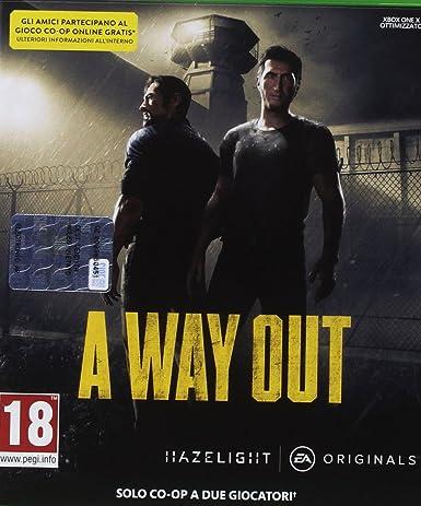 A Way Out - Xbox One [Importación italiana]: Amazon.es: Videojuegos