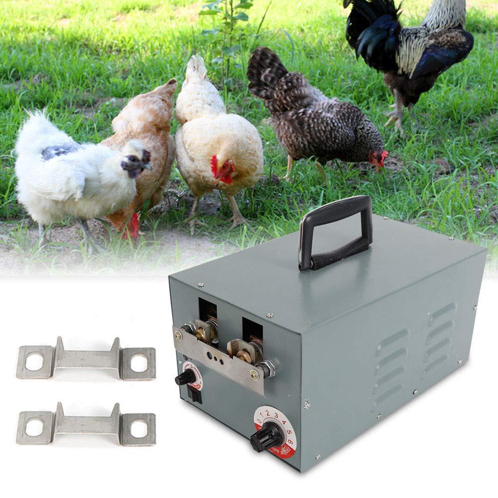 GDAE10 Automatic Chicken Debeaking Machine, 110V Auto Electric Debeaking Machine Chicken Debeaker Cutting Equipment (CA NJ Warehouse) by GDAE10