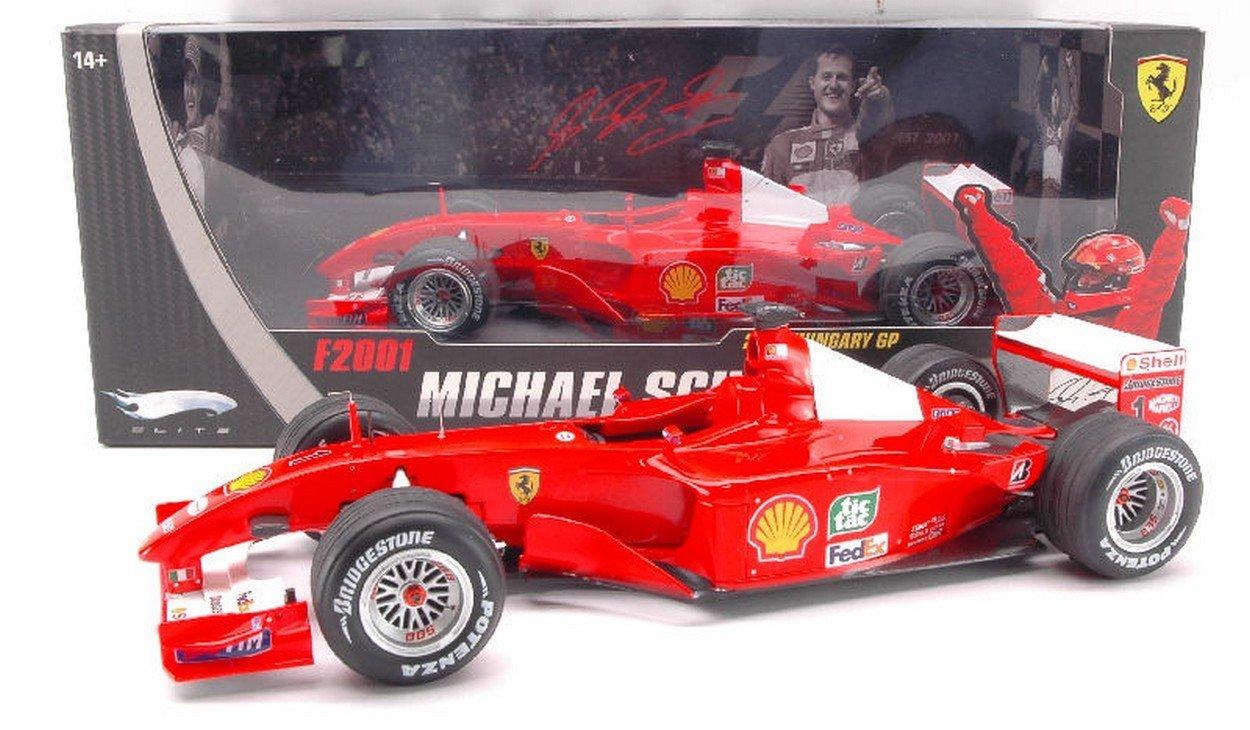 Hot Wtalons HWN2075 Ferrari M.Schumacher 01 Elite 1 18 MODELLINO Die CAST Model Compatible avec