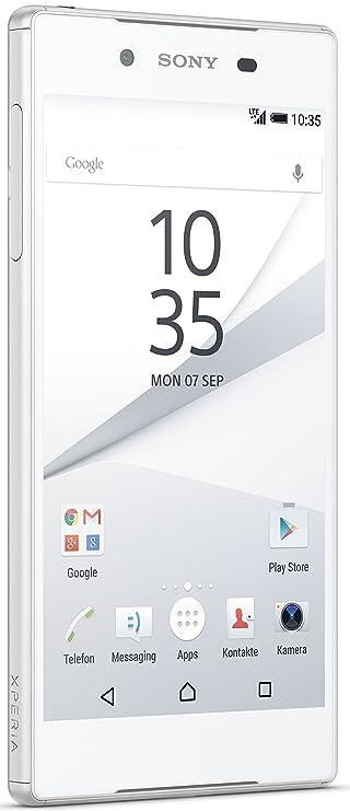 Sony Xperia Z5 Dual SIM Smartphone (13,2 cm (5,2 Zoll) Display, 32GB Speicher, Android 6.0) Weiß