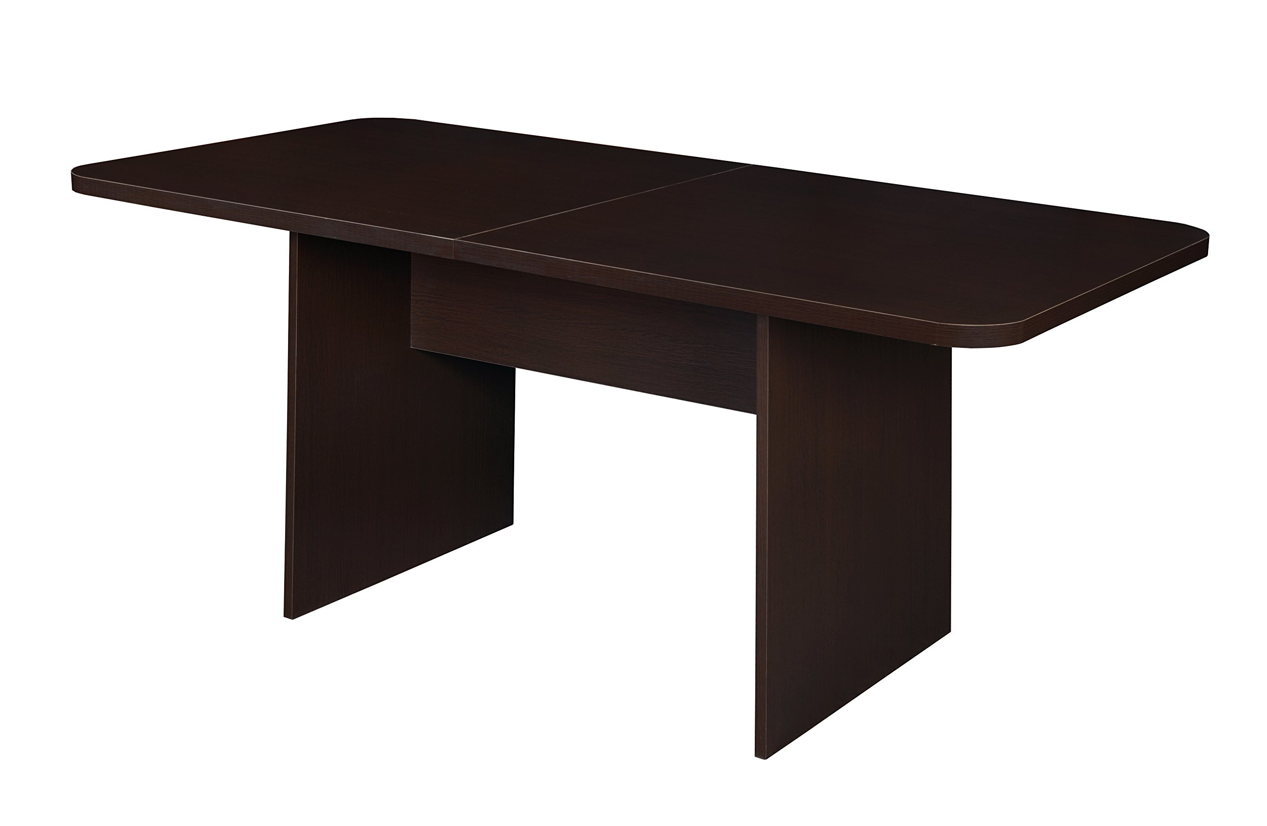 Niche NCT6834TF Mod Conference Table with No- with No-Tools Assembly, 6-Foot, Truffle