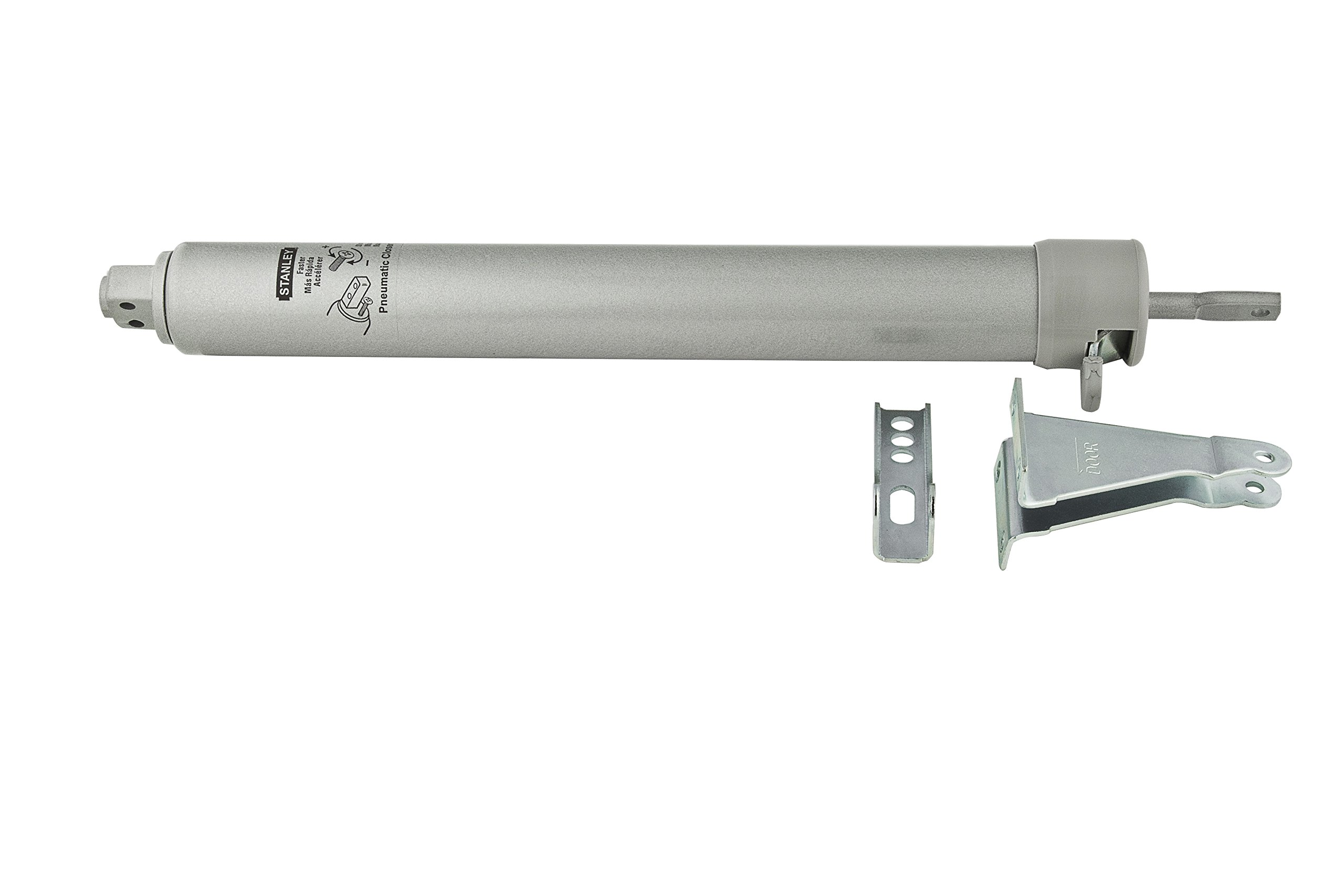 Stanley Hardware S179-134 CD1760 Air-Controlled  Door Closer in Clear Coated Aluminum