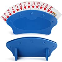 LotFancy Playing Card Holder for Kids Seniors, Plastic Hands Free Cards Holders for Canasta, Poker Parties, Family Card…