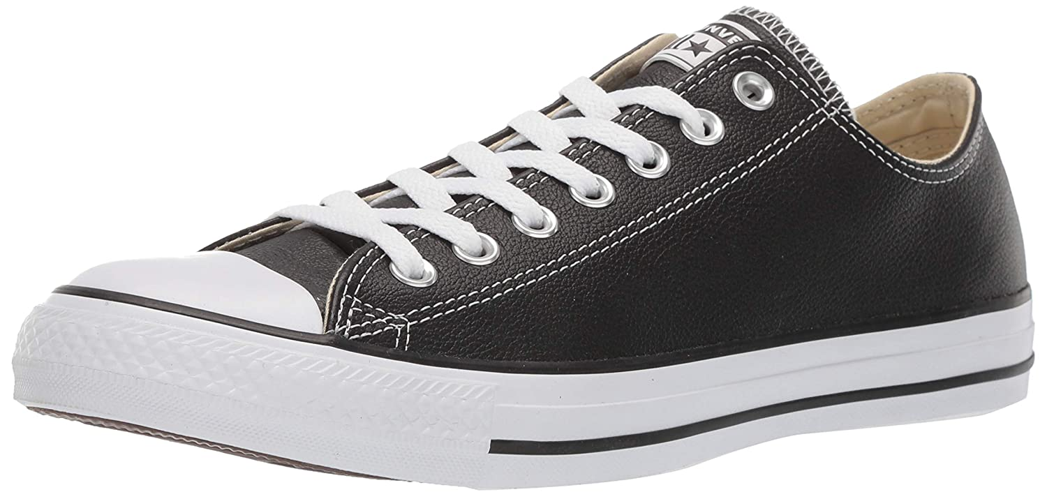 noir (noir) Converse Chuck Taylor All Star Core Lea Ox, paniers mode mixte adulte