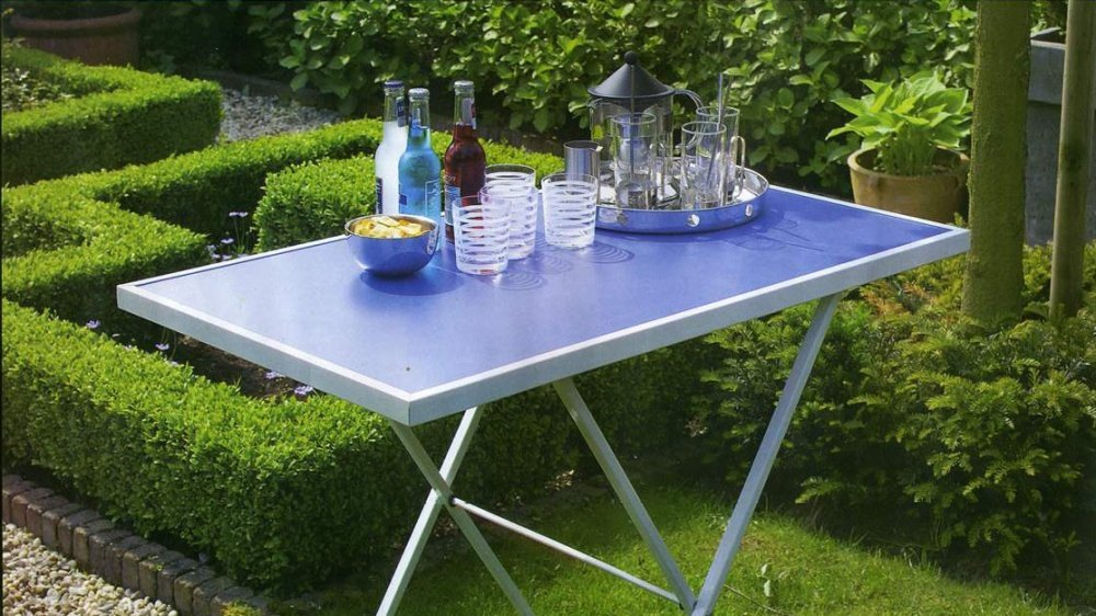 Amazon.de: Tischset 3-teilig Arbeitstisch Partytisch Tapeziertisch