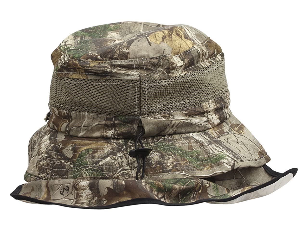 c89df0d0777 Stetson Men s Realtree Xtra No Fly Zone Insect Repellent Camo Boonie Hat  Sz  XL at Amazon Men s Clothing store