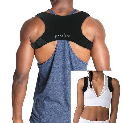 Es un corrector que se adapta al contorno de la espalda. Su diseño de  neopreno acolchado permite corregir la postura 741111d7cb0b