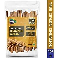 FYN True Sri Lankan Cinnamon Quills / World's Finest Ceylon Dalchini (100g)