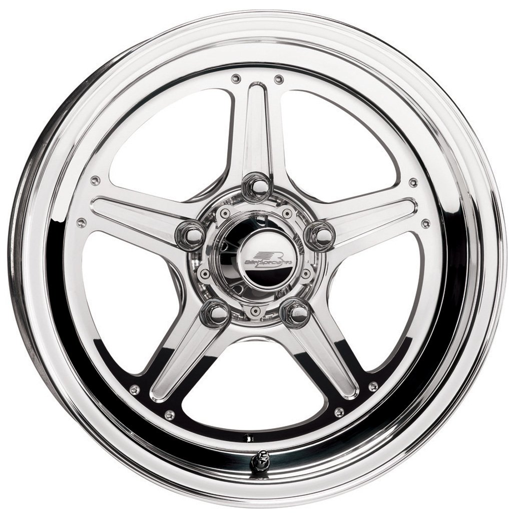 Billet Specialties Street Lite Polished - 15 x 3.5 Inch Wheel by Billet Specialties (Image #2)