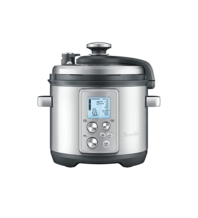 Breville BPR700BSS Fast Slow Pro Multi Function Cooker, Brushed Stainless Steel best pressure cooker