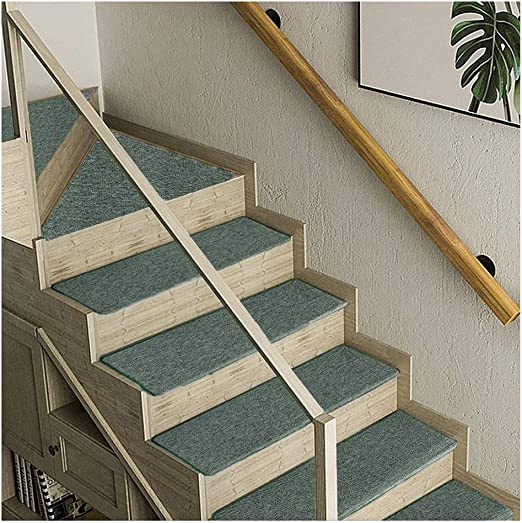 Alfombras de Escalera Peldaños Escaleras Alfombras Tapetes Cojines Piso Mat 5 Colores 4 Tamaño 8mm (Color : D, Size : 5PCS 24X90CM): Amazon.es: Hogar