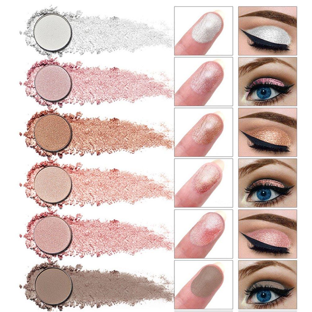 Pevor Eyeshadow Palette Makeup Cosmetics Glitter Eyeshadow Eye Makeup Smokey Eye Makeup Black Yellow Pink Eyeshadow Palette Eyeshadow Primer With Makeup Brush 12 Colors 1# 2# 3# 3 Styles Can Choose