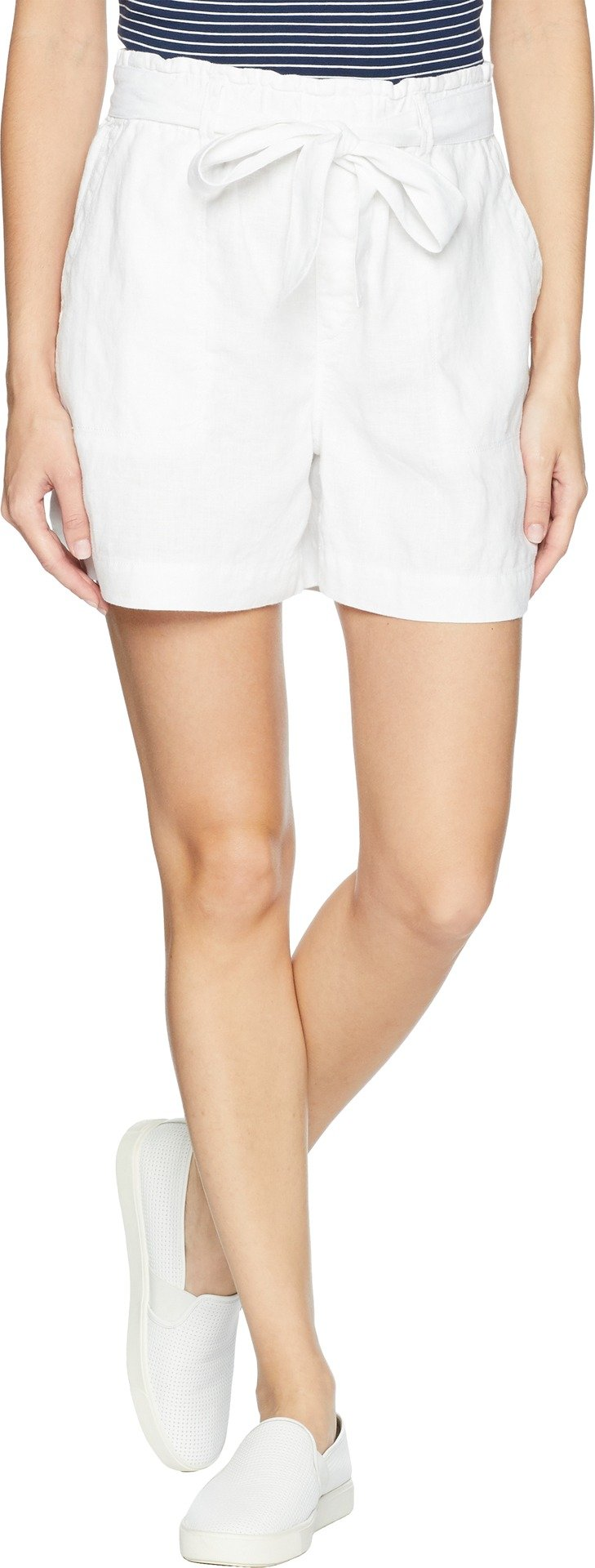 Sanctuary Women's Muse Tie Waist Shorts White Medium 5