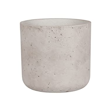 Abbott Collection Cement Classic Planter, Grey (Large)