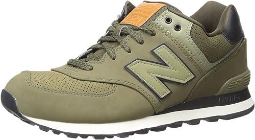 new balance 574 uomo verde scuro