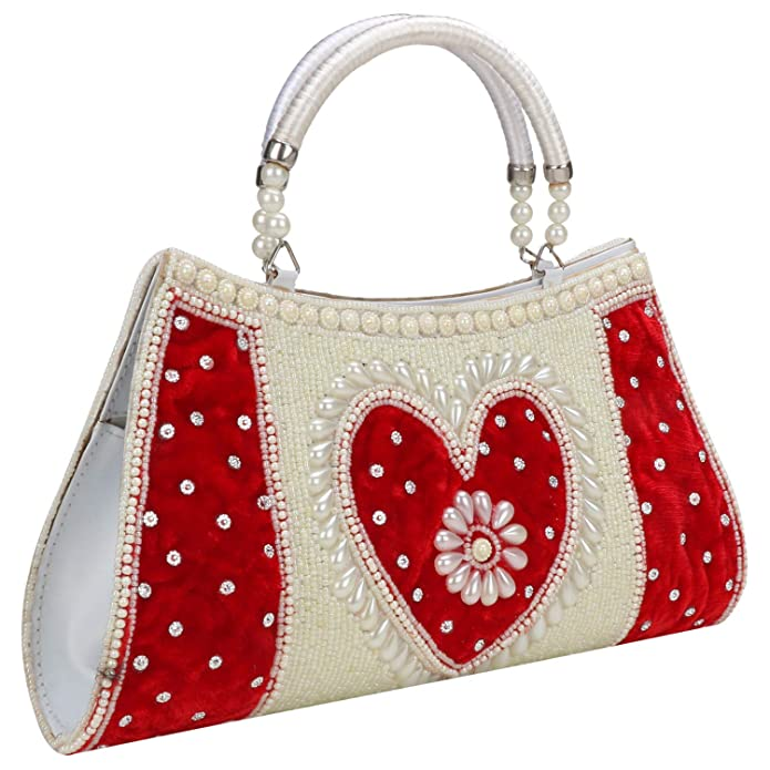 Amazon.com: Bolso de mano de mujer étnico multiusos bordado ...