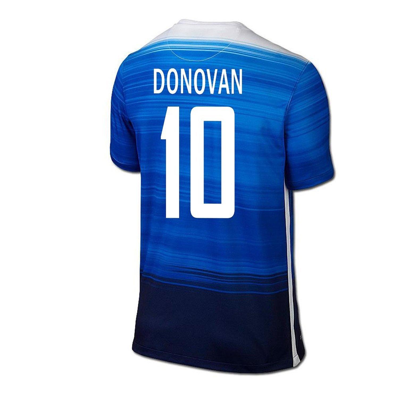 Nike Donovan #10 USA Away Soccer Jersey 2015/16 -YOUTH/サッカーユニフォーム アメリカ アウェイ用 ドノバン 背番号10 2015 ジュニア向け B018T7OQC8 Y-Medium, ツガマチ f17c7b67