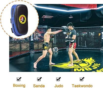 AQF Focus Paddles Taekwondo Kick Pads Raquette Paire de Karaté Boxe MMA FR