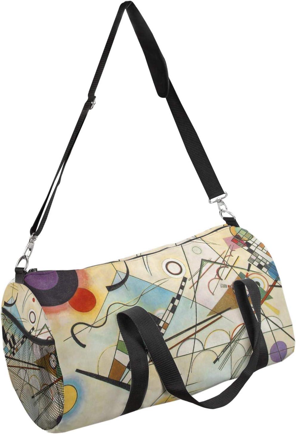 YouCustomizeIt Kandinsky Composition 8 Duffel Bag