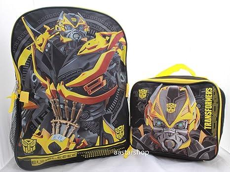 AST Toys Transformers Bumblebee - Mochila Escolar para Niños