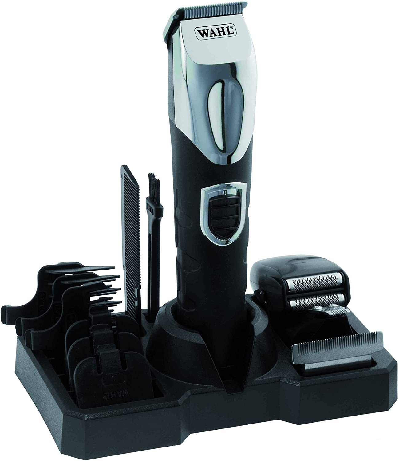 Wahl 9854-616 All in One - Cortapelos corporal con iones y litio ...