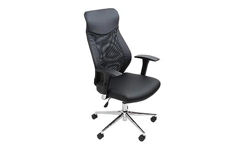 Sedie Ufficio Sportive : Avanti trendstore sedia ufficio girevole nera con braccioli