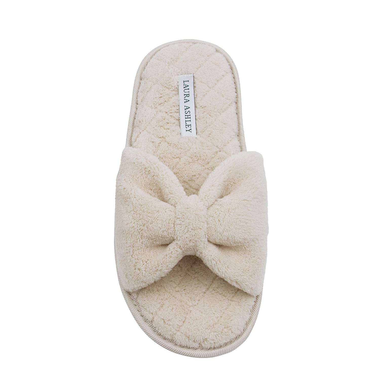 Buy Laura Ashley Ladies Plush Open Toe