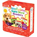Nonfiction Sight Word Readers Level A, Ages 3-7: Teaches 25 Key Sight Words to Help Your Child Soar as a Reader!