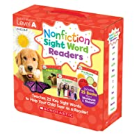 Nonfiction Sight Word Readers Parent Pack: Level A: Teaches 25 key Sight Words to Help Your Child Soar as a Reader!