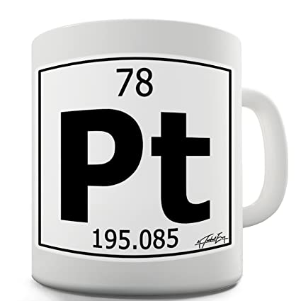 Amazon Com Twisted Envy Periodic Table Of Elements Pt
