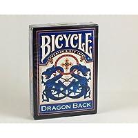 Cartes Bicycle dragon bleu