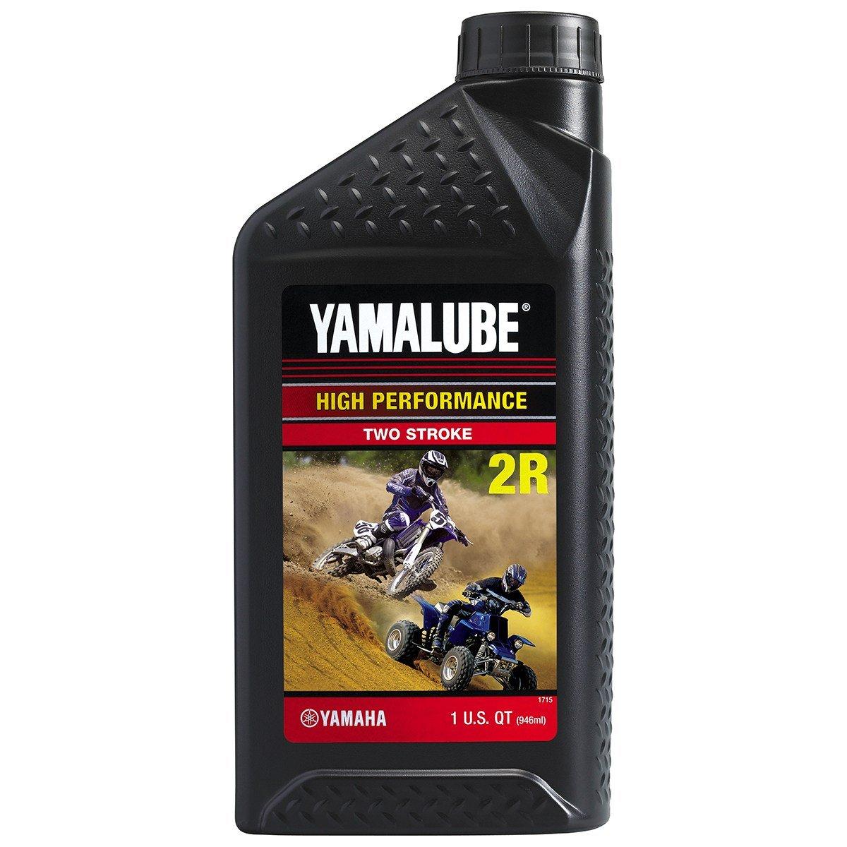 Yamaha LUB-2STRK-R1-12 Yamalube 2R RACE 2-STROKE OIL - 1 one-quart bottle LUB2STRKR112 Made by Yamaha