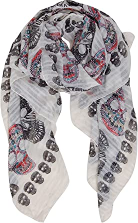 Womens Long Scarf Floral Print Large Sheer Shawl Wraps for EveningMulticolor Hot Sale!!