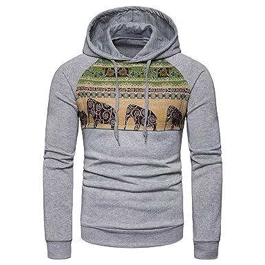 Roiper Hauts Homme Hooded Manteau Sweater,Parka Chaud Veste