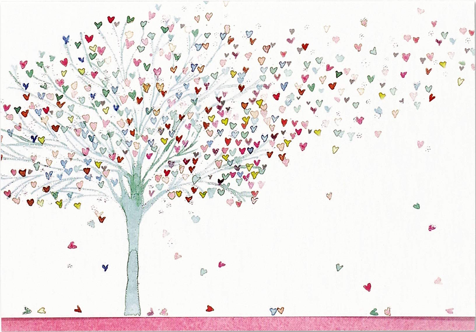 Tree Hearts Cards Stationery Boxed product image