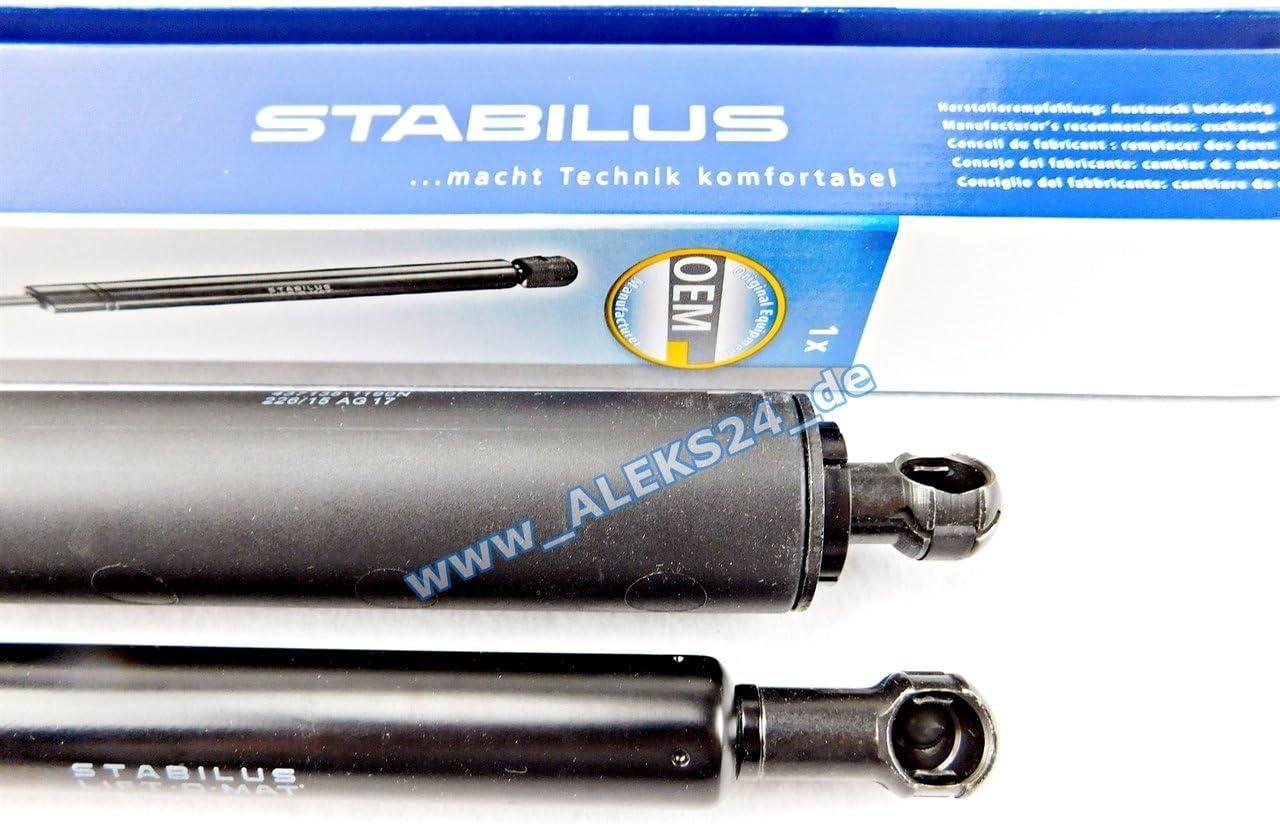 2x STABILUS LIFT-O-MAT LIFTER GASFEDER D/ÄMPFER KOFFERRAUM HECKKLAPPE 0406IS