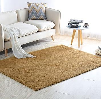 Amazon.de: WEIJUN SHOP Weicher Teppich für Wohnzimmer Flauschiger ...
