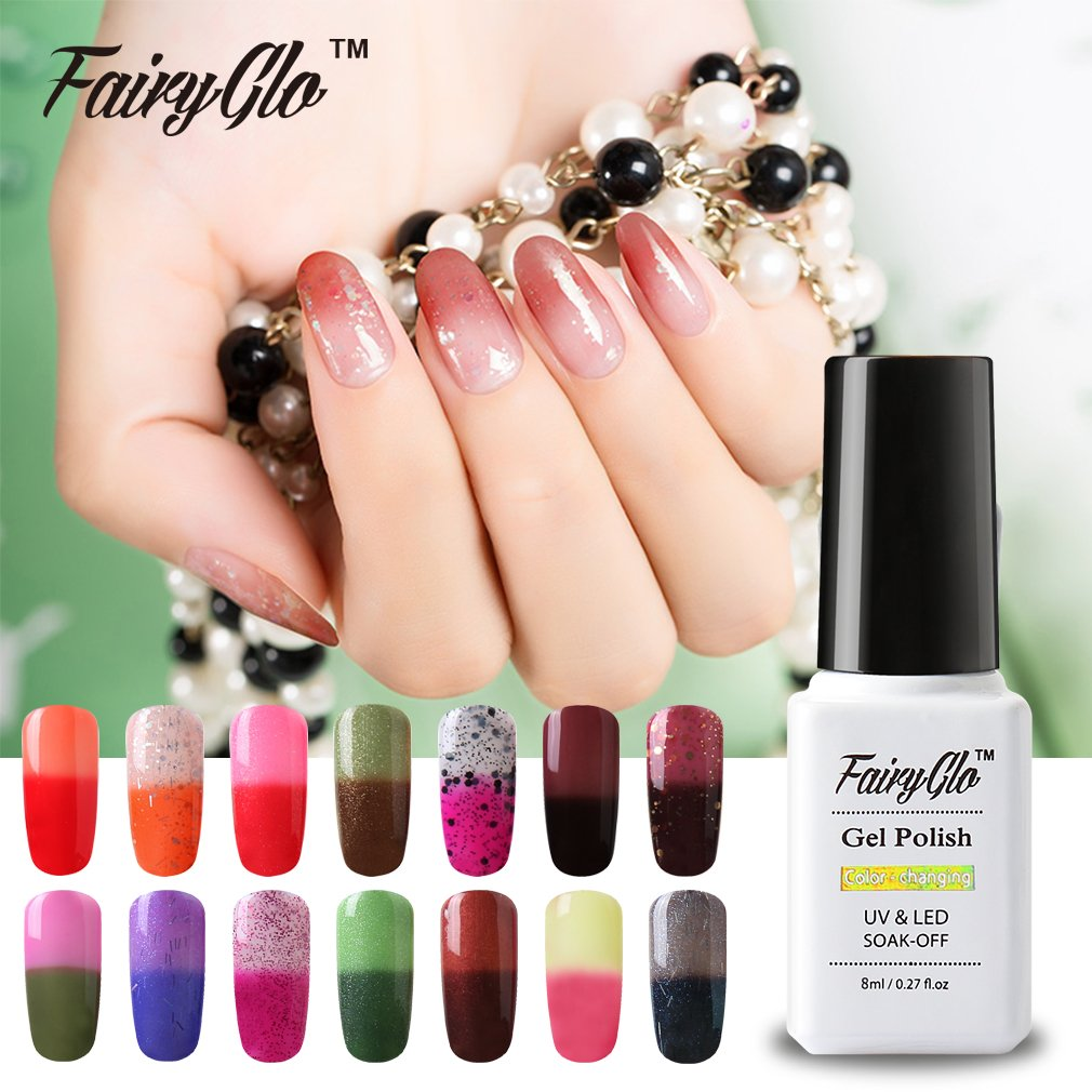 Amazon.com : Fairy Glo (Pick Any 30 Colors) Gel Nail Polish Soak Off ...