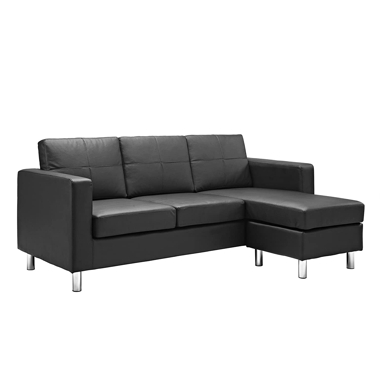 Amazon Dorel Living Small Spaces Configurable Sectional Sofa