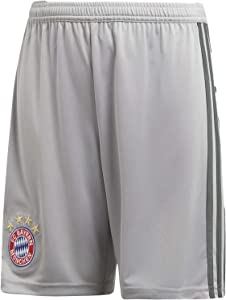 adidas 2018-2019 Bayern Munich Home Goalkeeper Shorts (Grey) - Kids