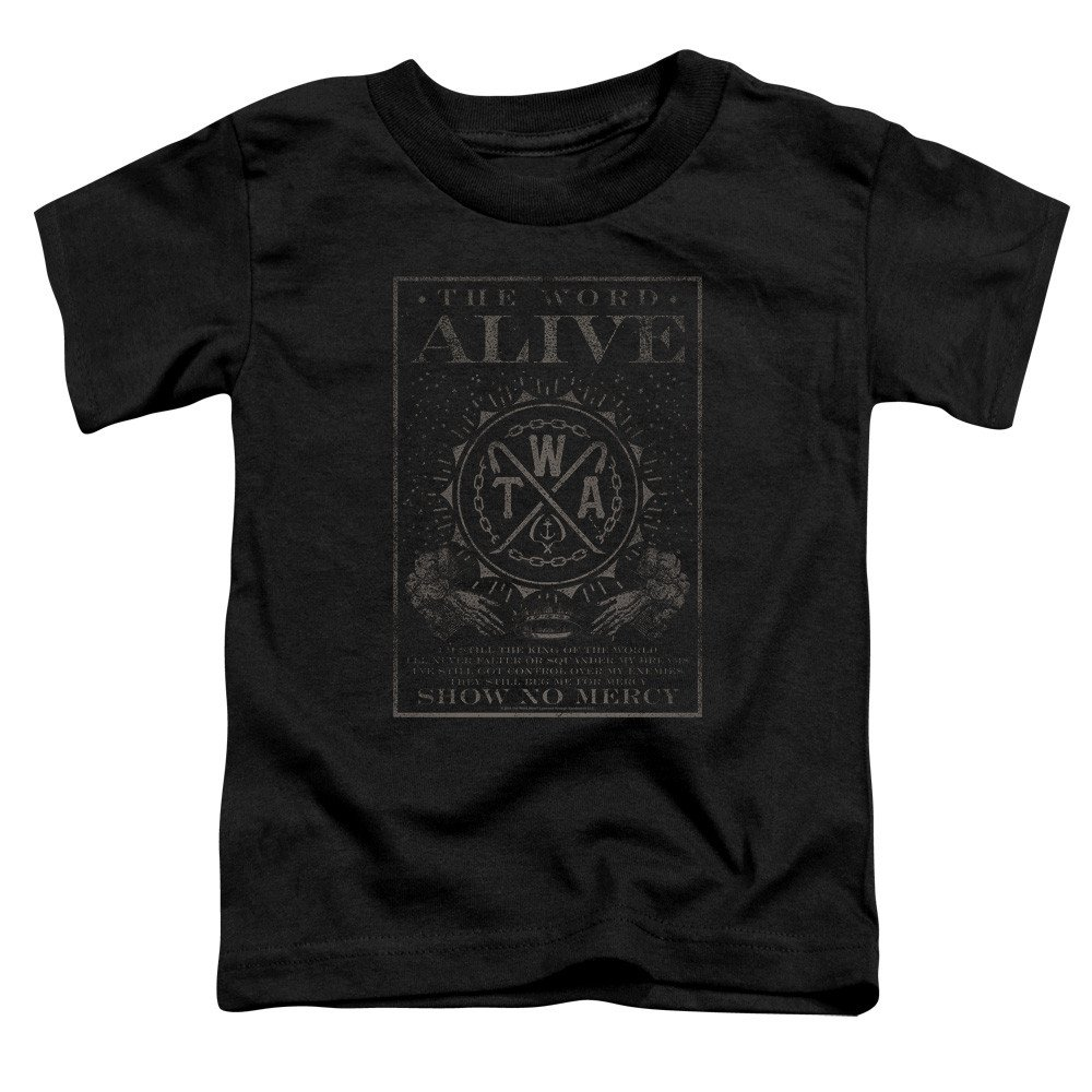The Word Alive Show No Mercy T Shirt 7123