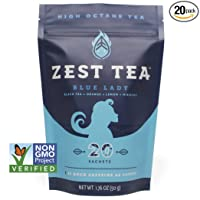 Deals on Blue Lady Black Energy Tea 20 Sachet Package (50 Grams)