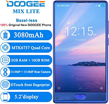 Doogee Mix Lite Móviles Smartphones Libres 4G 5.7