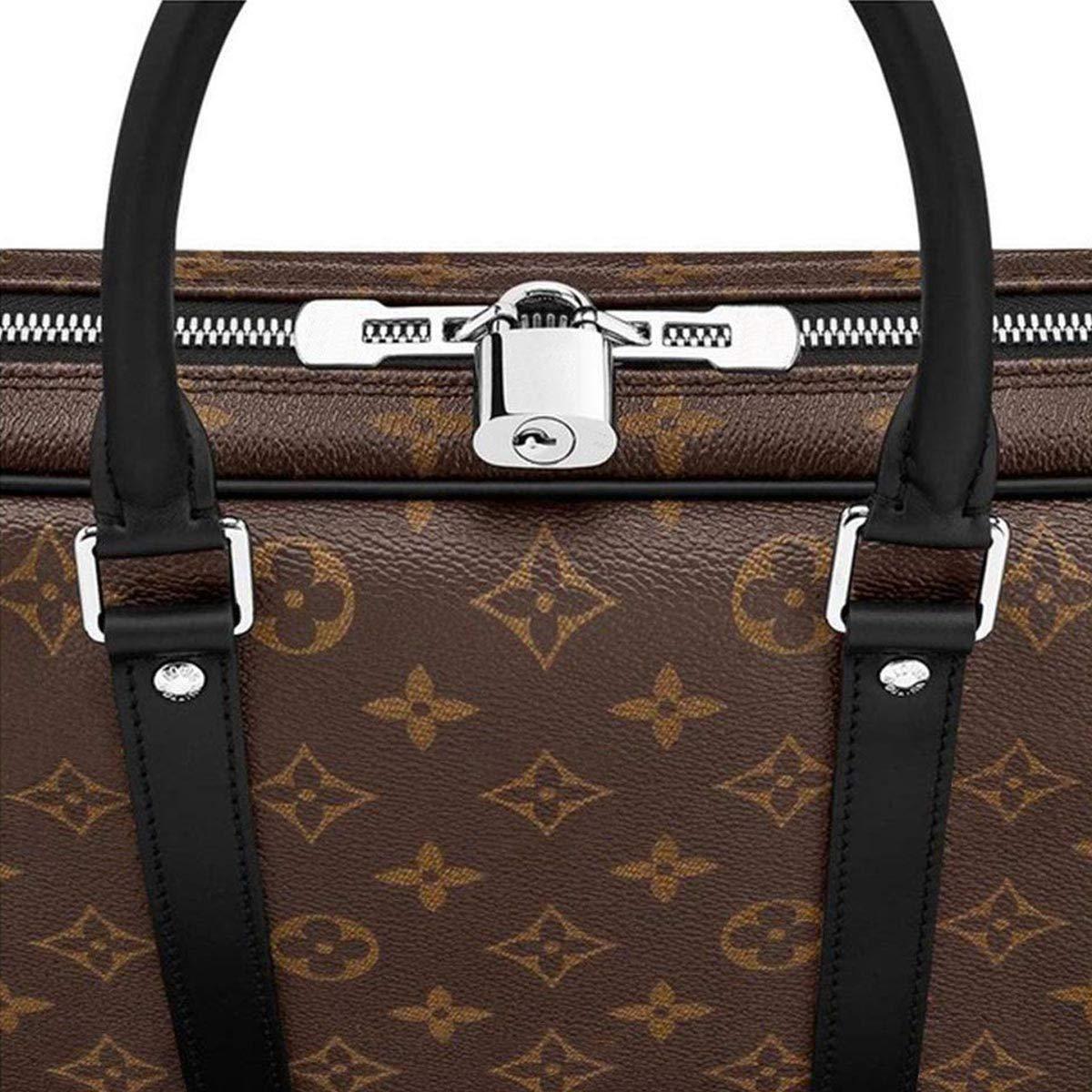 977e66488aa0 Amazon.com  eLVe Monogram Macassar Canvas Porte-Documents Voyage PM  Briefcase Laptop Bag Article  M52005  Shoes