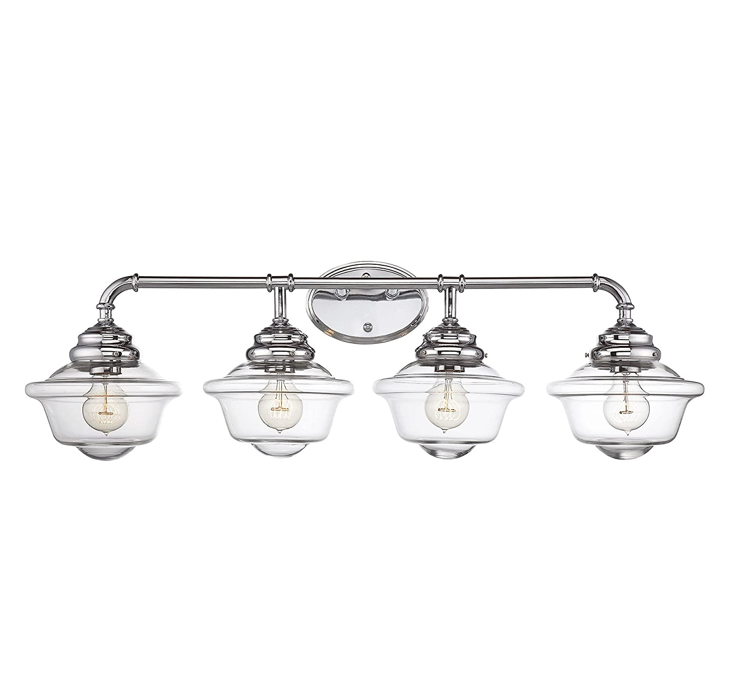 Savoy House Fairfield Light Vanity Bar In Chrome - Savoy bathroom light fixtures