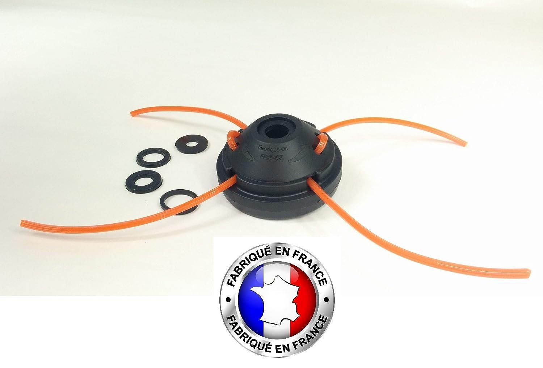 Testa di decespugliatore Rapide Pro con 50 fili di nylon Jardiaffaires
